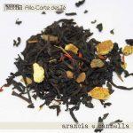 arancia e cannella alla corte del tè