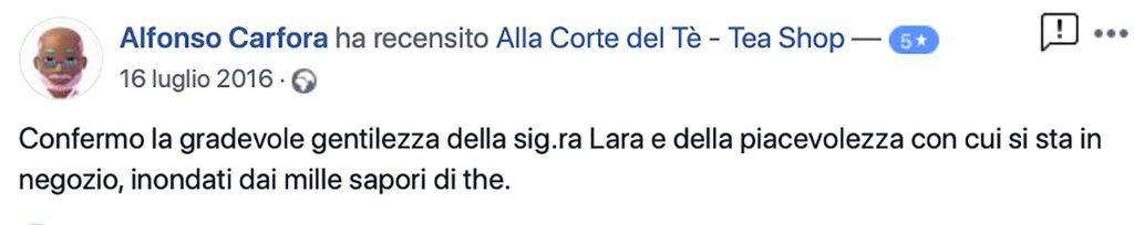 Recensione Alfonso Carfora