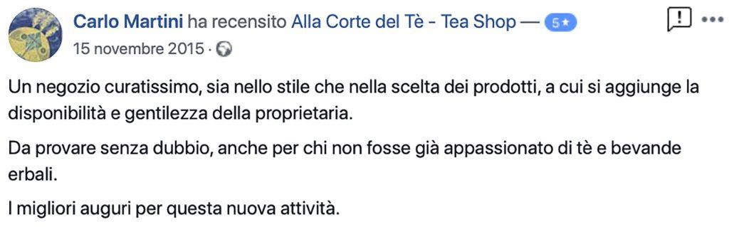 Recensione Carlo Martini