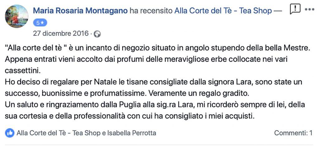 Recensione Montagano